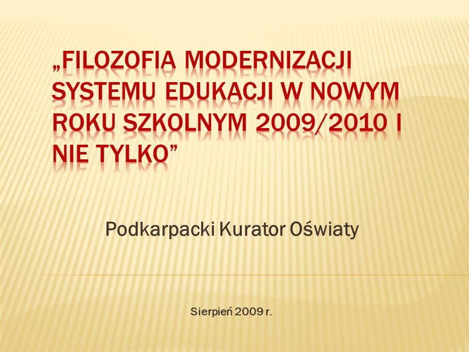 Podkarpacki Kurator Oświaty Sierpień 2009 r.