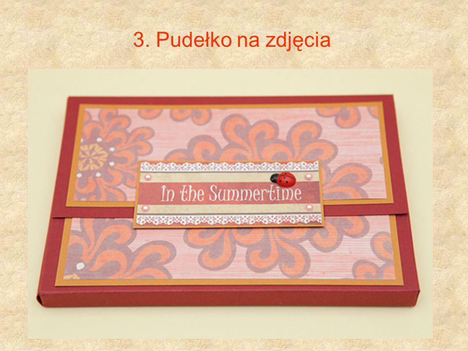 3. Pudełko na zdjęcia