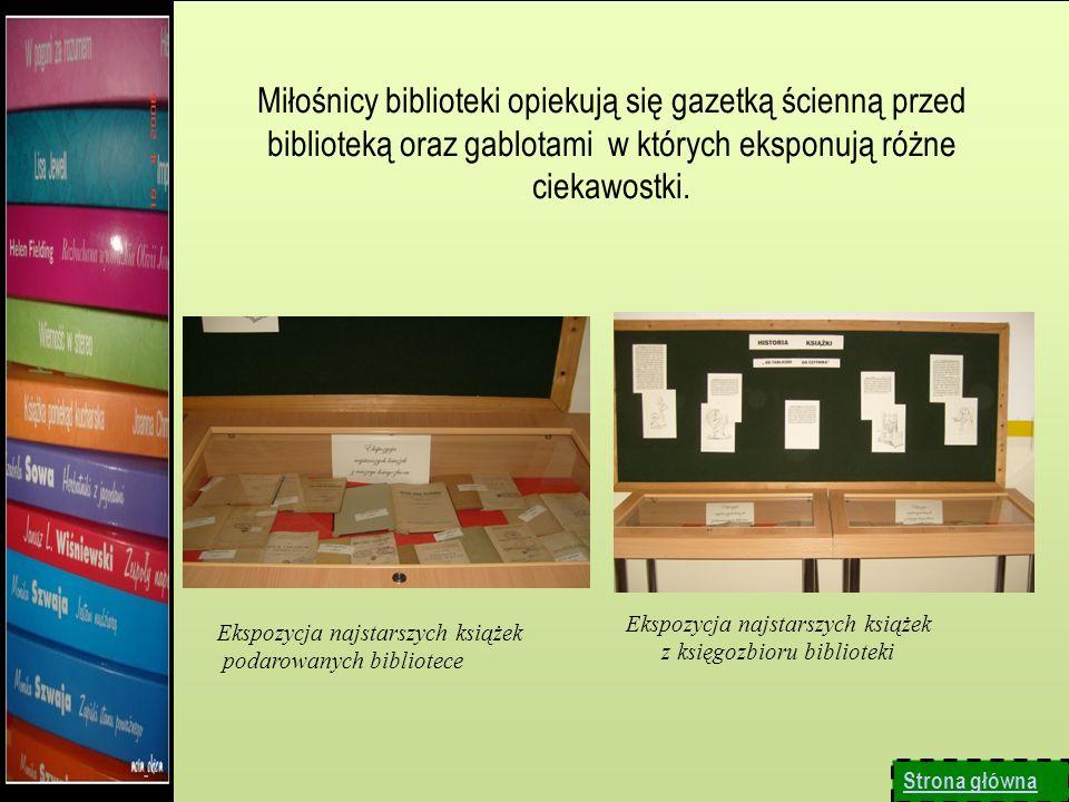Uczniowie w ramach spotkań koła wykonują ozdobne księgi.
