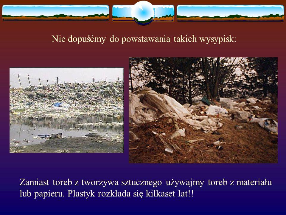 Każdy z tych znaków jest bardzo ważny. Każdy daje nam wskazówkę jak postępowa z danym odpadem.