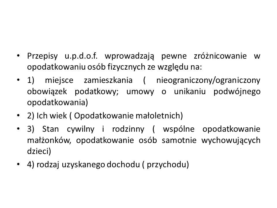Przykład: Jan Kowalski, mający miejsce zamieszkania na terytorium Polski, osiągnął w 2012 r.