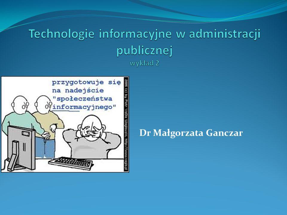 Dr Małgorzata Ganczar
