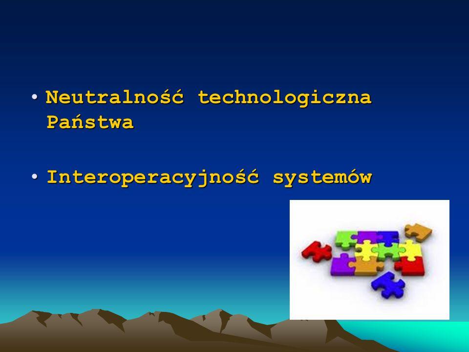 Ramowa architektura Podmioty zainteresowane Usługi interoperacyjności Usługi rejestroweUsługi zewnętrzne Złożone usługi publiczne Platforma elektronicznych usług publicznych