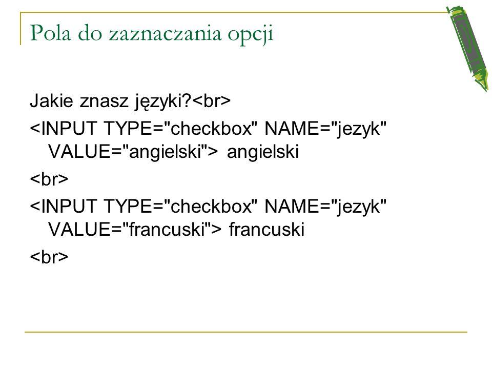 Proste pole tekstowe Wpisz w ramkę imię i nazwisko