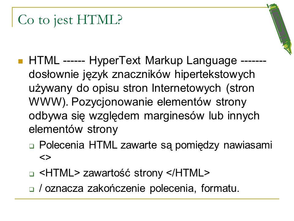 Przeglądarki Internetowe Programy, które mogą interpretować zakodowane strony WWW (język opisu strony HTML) i wyświetlać zawarte na nich informacje (t