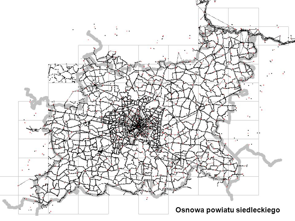 Osnowa powiatu siedleckiego