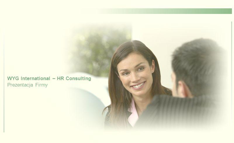 Kim jesteśmy WYG International – HR Consulting jest częścią międzynarodowej grupy WYG International, wyspecjalizowaną w dziedzinie zarządzania zasobami ludzkimi.