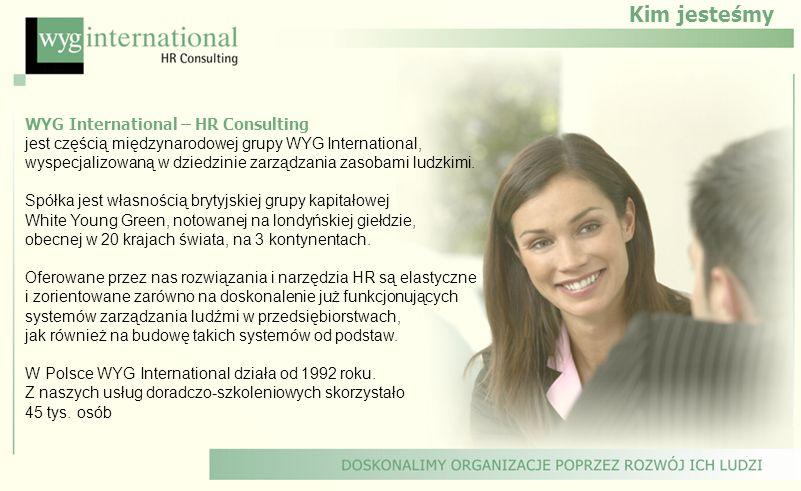 Kim jesteśmy WYG International – HR Consulting jest częścią międzynarodowej grupy WYG International, wyspecjalizowaną w dziedzinie zarządzania zasobam