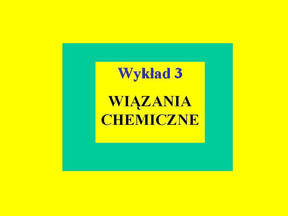 -kowalencyjne * -jonowe -metaliczne Wiązania chemiczne -wiązania międzycząsteczkowe (van der Waalsa) -wiązania wodorowe - inne wiązania (np.