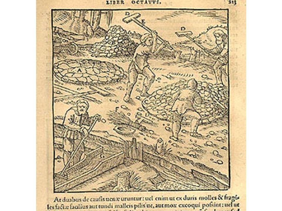 G.Agricola (1494-1555), De re metallica, str. 131