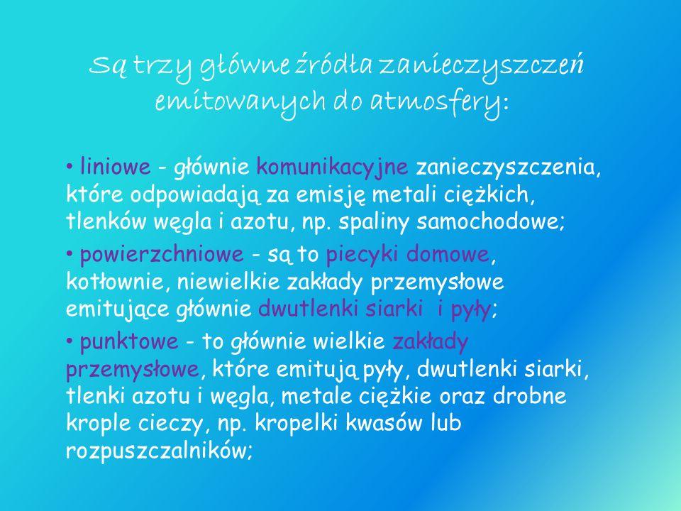Bibliografia www.publikacje.php www.wikipedia.pl www.ekoproblemy.webpark.pl www.sciąga.pl www.edu.pgi.gov.pl www.wiking.edu.pl Encyklopedia geograficzna wydawnictwa Greg Encyklopedia powszechna PWN