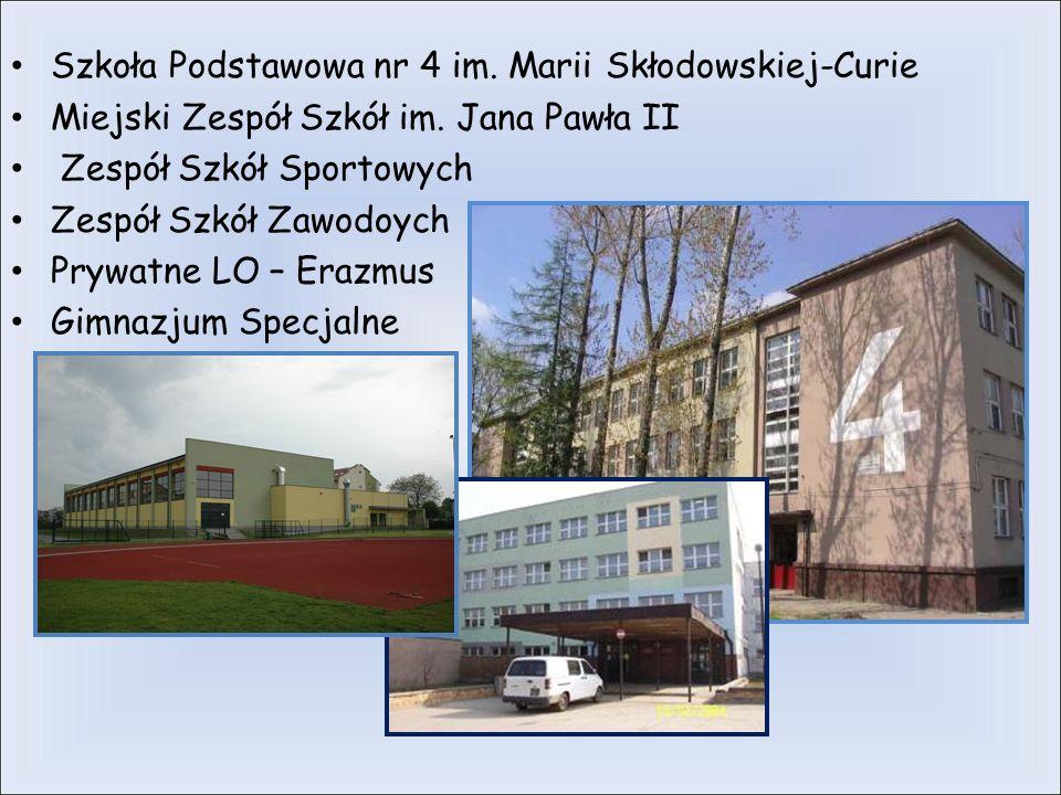 Szkoła Podstawowa nr 4 im. Marii Skłodowskiej-Curie Miejski Zespół Szkół im.