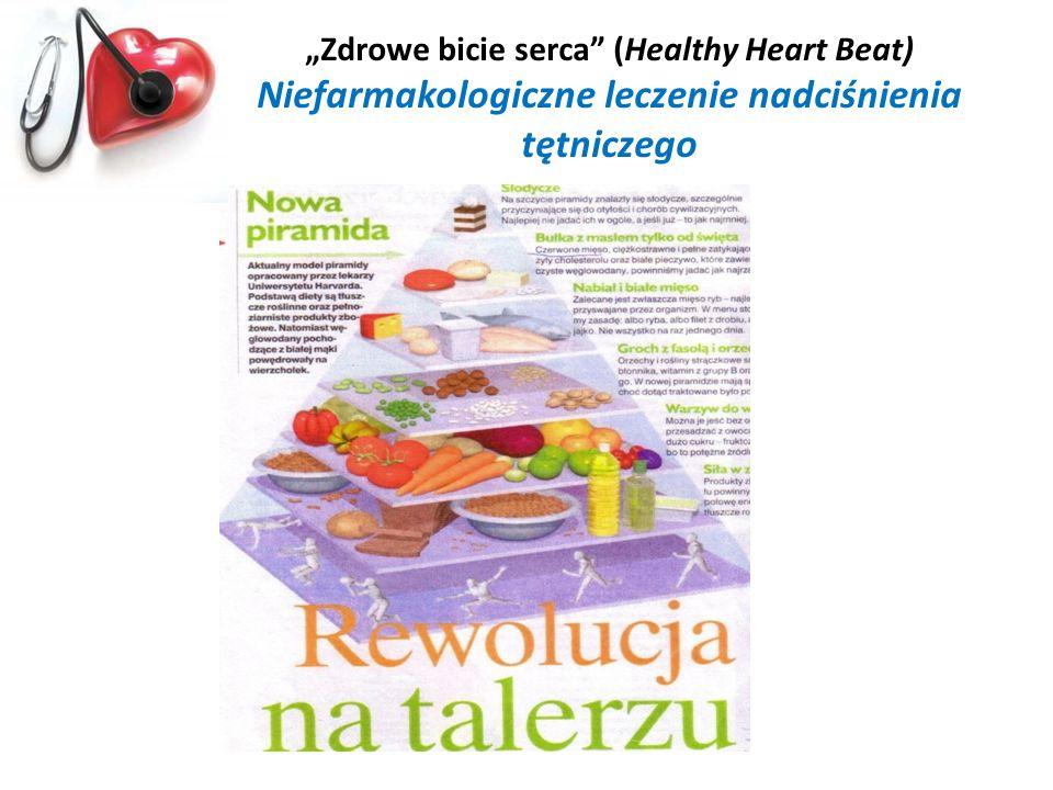 Zdrowe bicie serca (Healthy Heart Beat) Niefarmakologiczne leczenie nadciśnienia tętniczego
