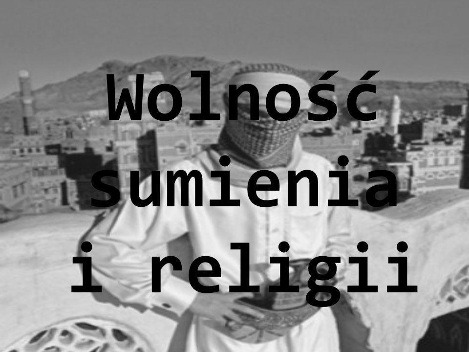 Wolność sumienia i religii