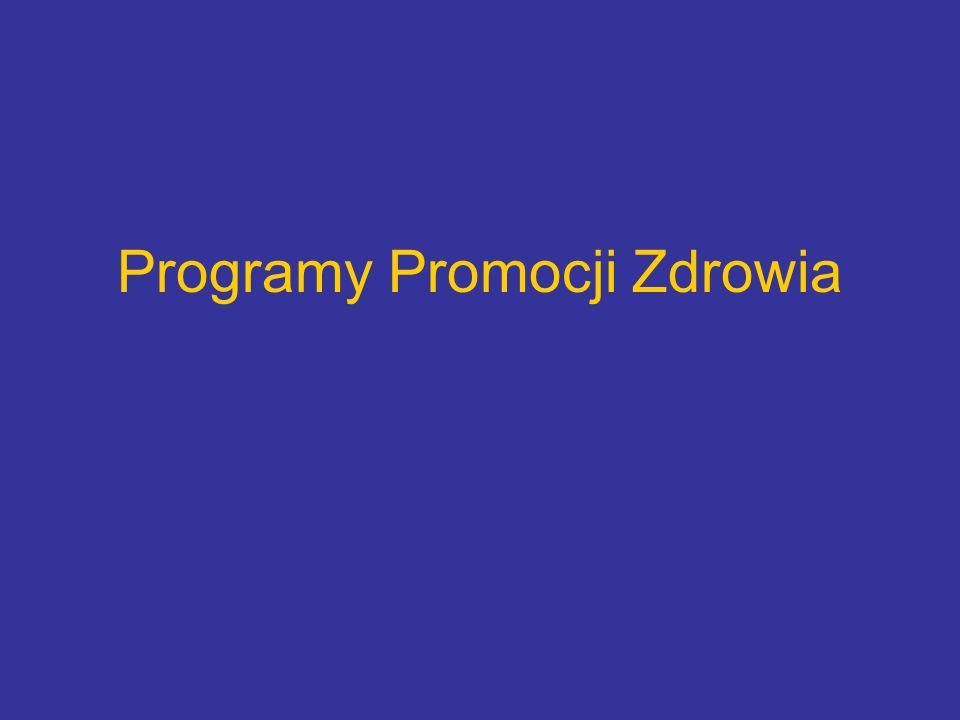 Programy Promocji Zdrowia