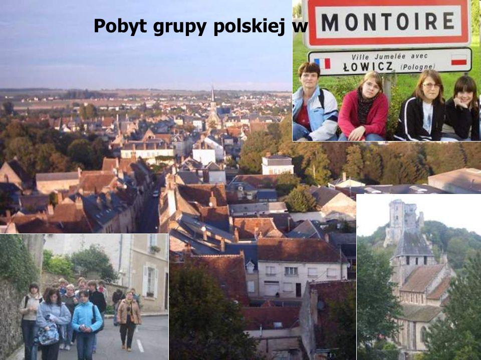 Pobyt grupy polskiej w
