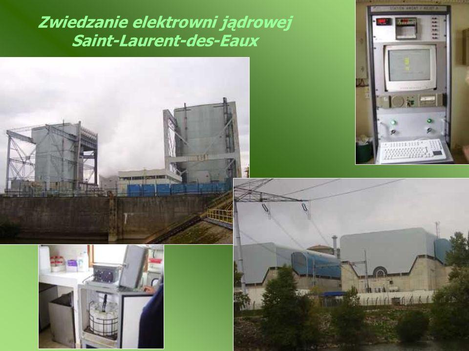Zwiedzanie elektrowni jądrowej Saint-Laurent-des-Eaux