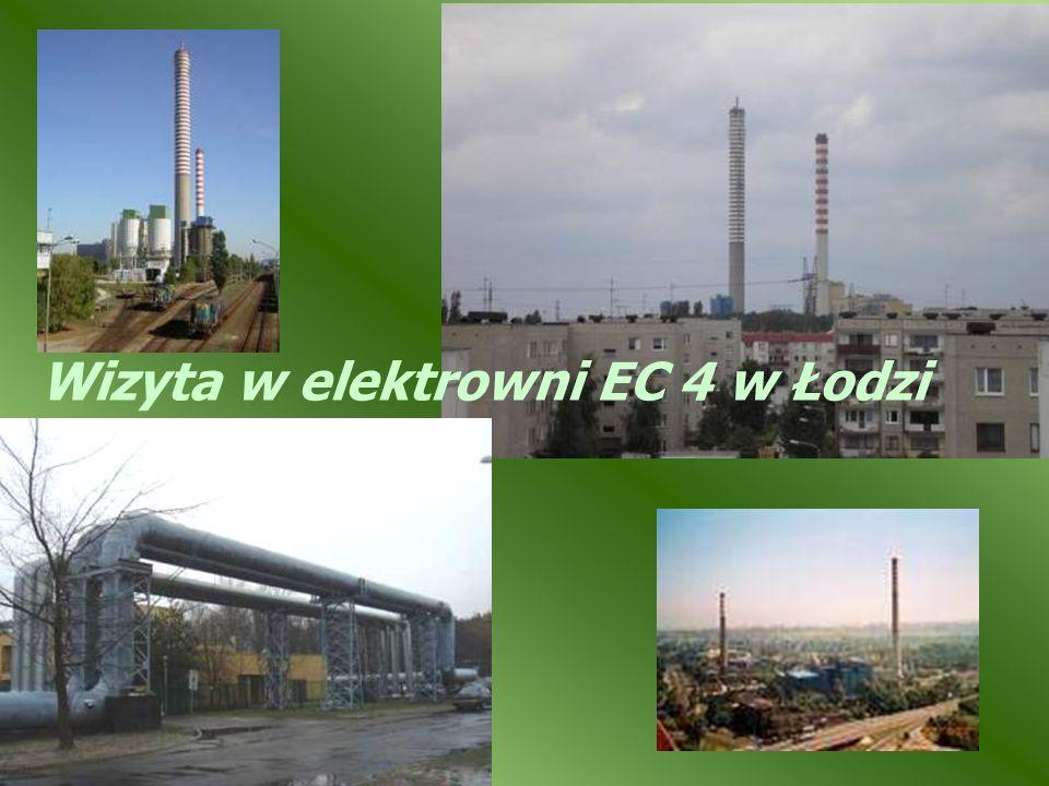 Wizyta w elektrowni EC 4 w Łodzi