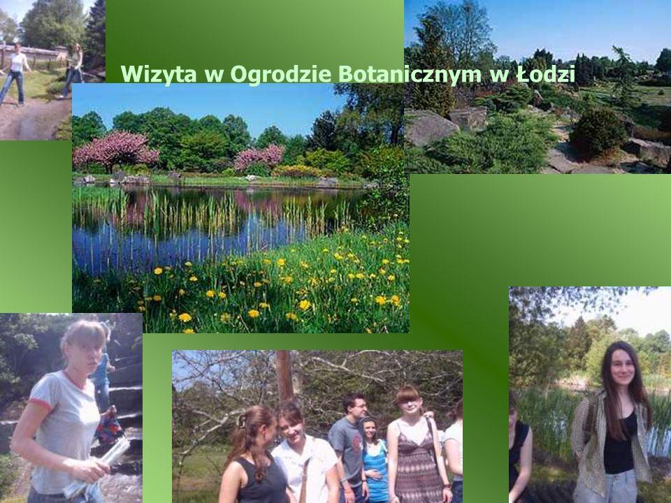 Wizyta w Ogrodzie Botanicznym w Łodzi