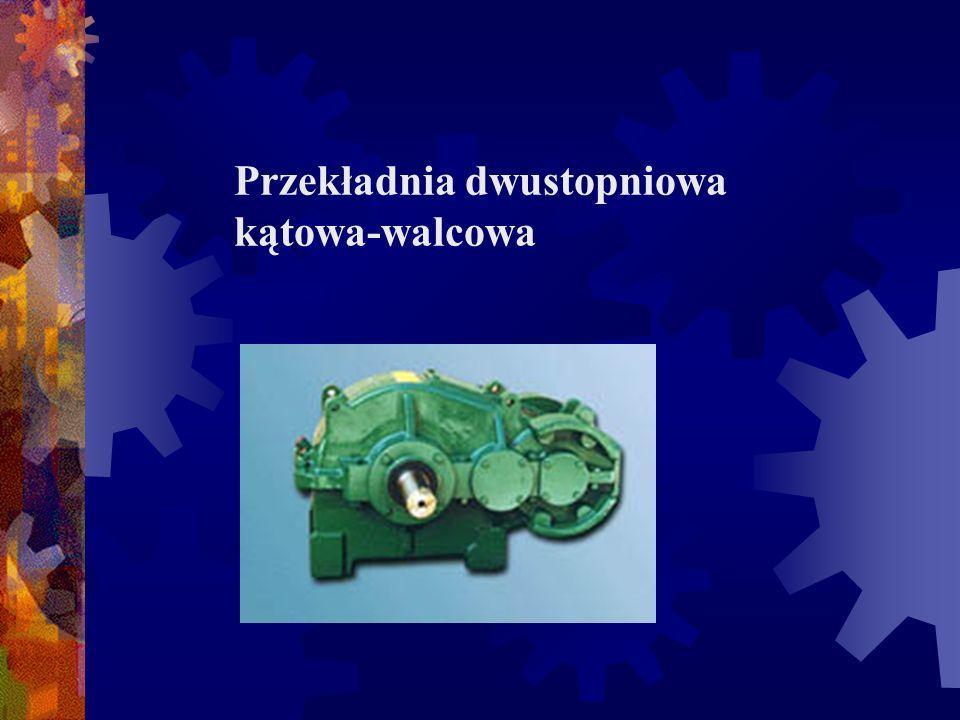 Przekładnie są wykonywane z poziomo lub pionowo usytuowanymi końcowymi czopami wałów szybkoobrotowych i wolnoobrotowych.