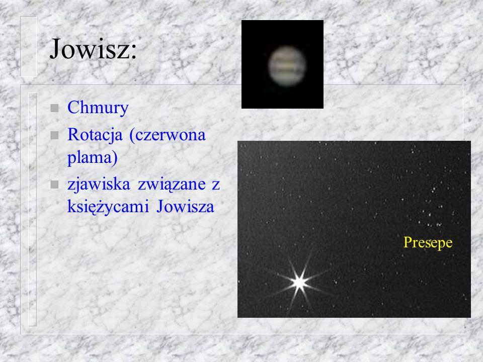 Mars: n Szczegóły powierzchni n Pogoda n Rotacja teleskop 35 cm ogniskowa 3.5 m