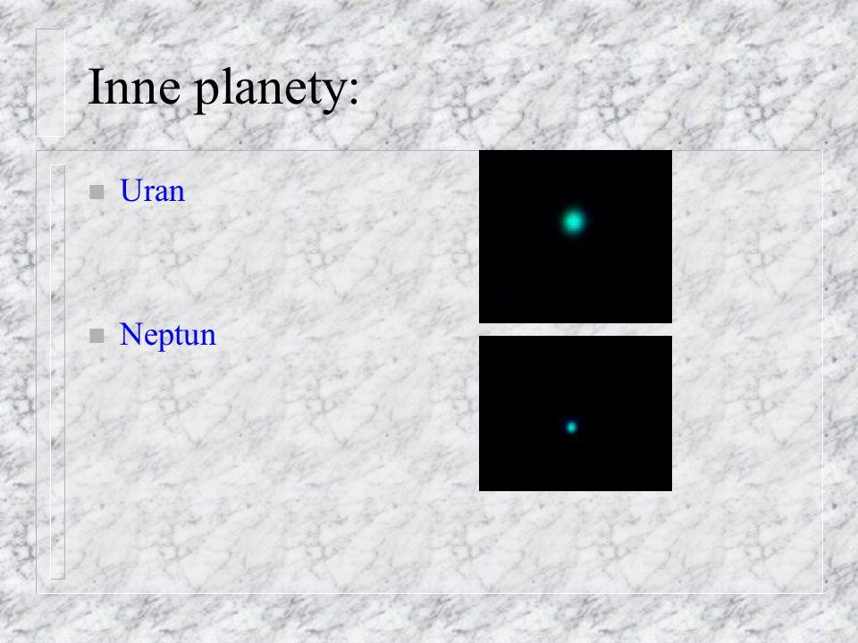 Nachylenie pierścieni: n sin (a) = r / R Do obserwatora Szczelina Cassiniego