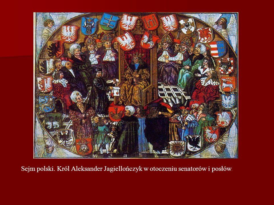 Posiedzenie sejmu w 1622 r., (miedzioryt)