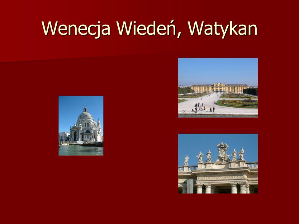 Wenecja Wiedeń, Watykan