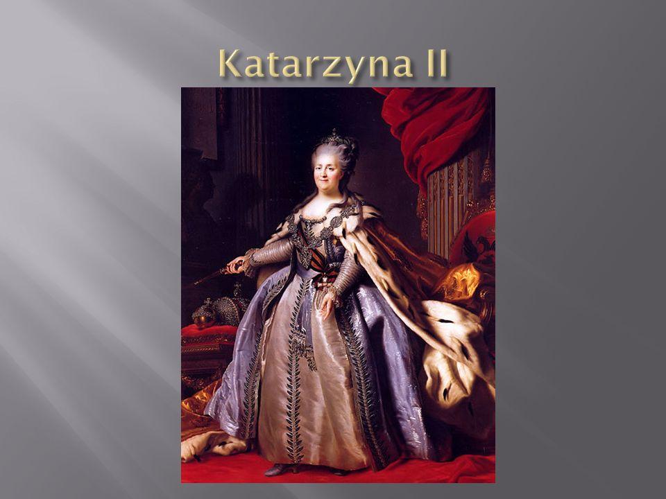 Katarzyna II Wielka, właściwie Sophie Friederike Auguste zu Anhalt-Zerbst, ros.