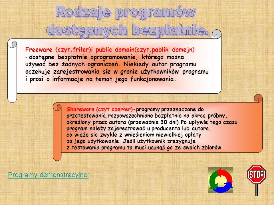 dokonywać zmian w programie przebudowywać programu, zmieniać jego układu ani też wykonywać operacji mających na celu stworzenie nowego programu o podo