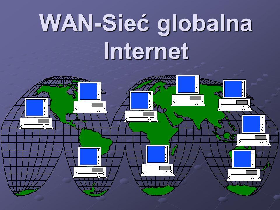 WAN-Sieć globalna Internet