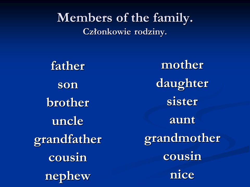 How plurals are formed.Tworzenie liczby mnogiej rzeczowników 4.