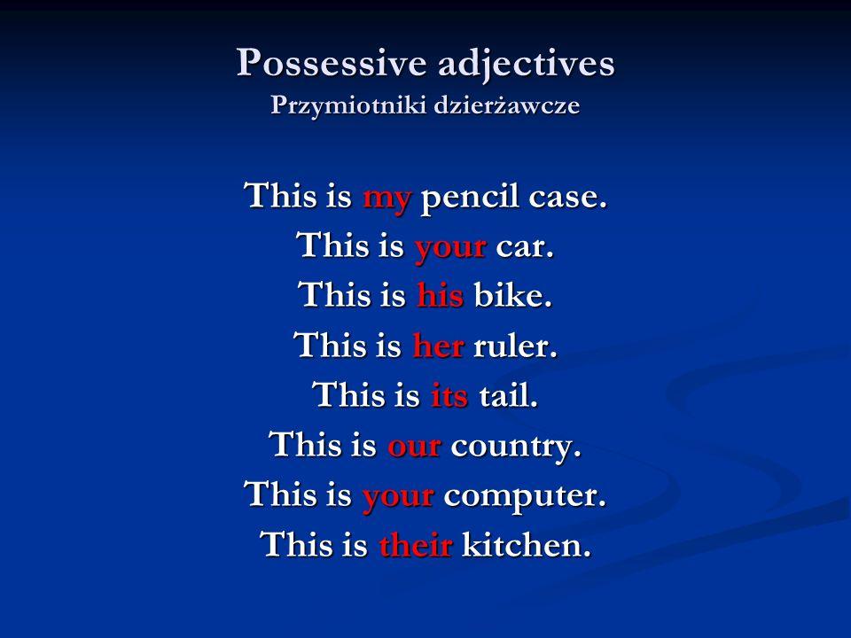 How plurals are formed.Tworzenie liczby mnogiej rzeczowników 5.
