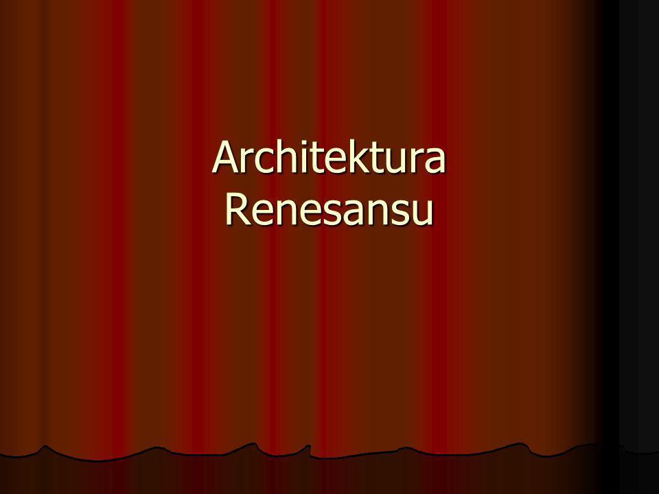 Architektura Renesansu