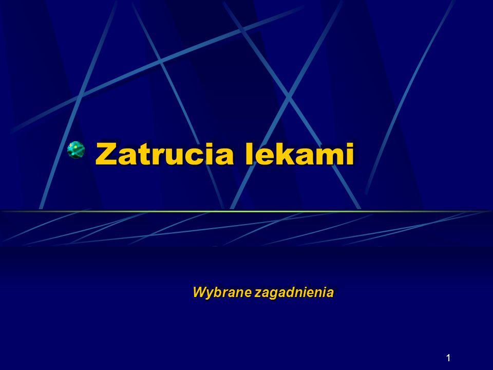 41 Zespół cholinolityczny Salicylan fizostygminy cd.