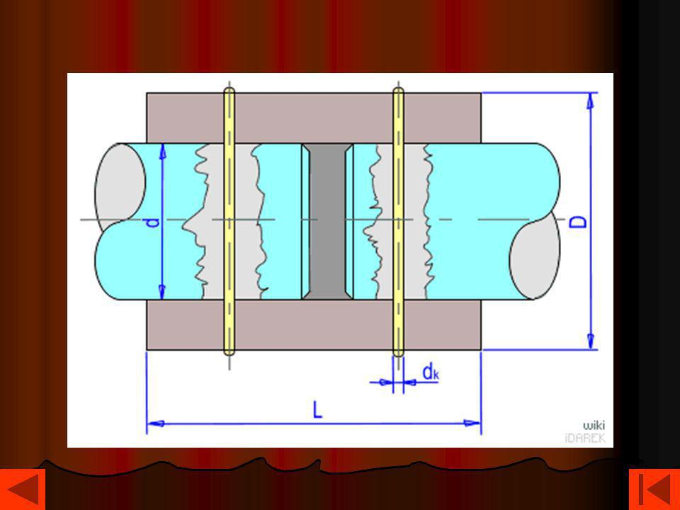 Sprzęgło cierne jednokierunkowe Sprzęgło cierne jednokierunkowe zwane wolnym kołem, spełnia podobne zadanie jak sprzęgło zapadkowe i jest stosowane do odłączania napędu, jeśli człon napędzany, np.