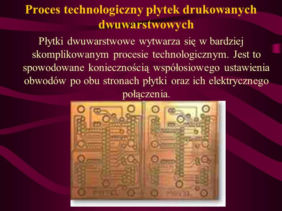 Nanoszenie rysunku obwodu elektrycznego na warstwie kopiowej wykonuje się metodą sitodruku oraz metodą fotolitograficzną. Trawienie folii miedzianej p