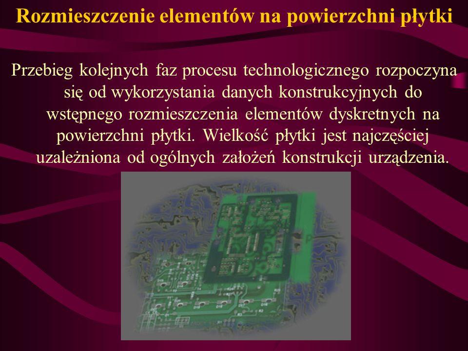 W metodzie kompleksowej po metalizacji chemicznej następuje metalizacja elektrochemiczna miedzią, a następnie kopiowanie negatywu połączeń drukowanych