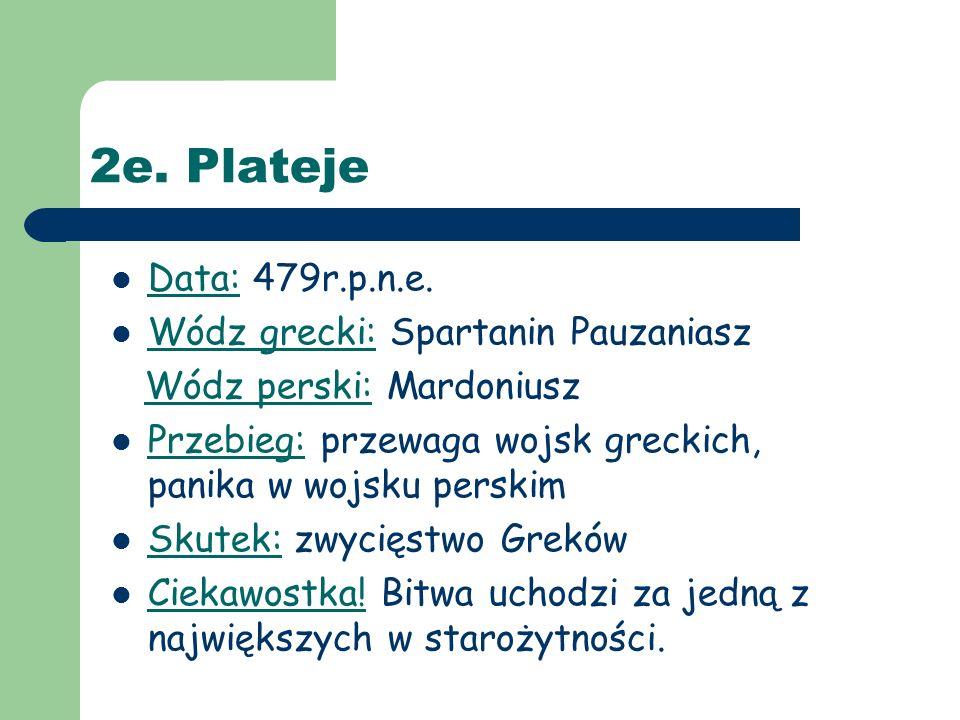 2e. Plateje Data: 479r.p.n.e.