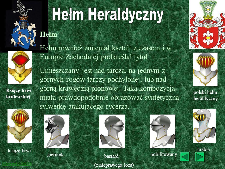 W Polsce korona była jedynie upiększeniem herbu. Kształt i liczba pałek w koronie do czasów rozpowszechnienia się obcych tytułów nie oznaczała rangi p