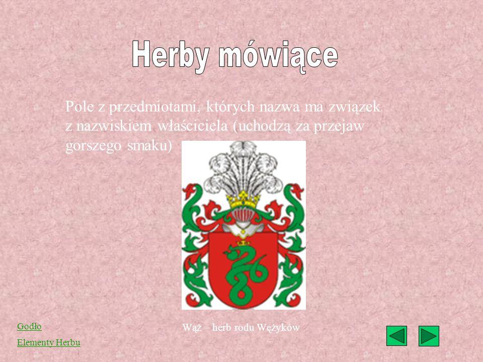 (franc. Meuble héraldique) godła heraldyczne umieszczane na tarczy herbowej. Stanowią liczną grupę godeł heraldycznych, czasem uważaną za jedyną i wła