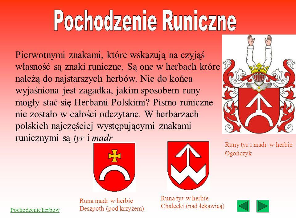 Pochodzenie Runiczne Pochodzenie Słowiańskie Pochodzenie Sarmackie Menu 1 3 2