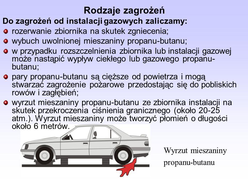 Zasady bezpiecznego prowadzenia działań ratowniczych Działania ratownicze powinny być wykonywane z zachowaniem poniższych zasad: pojazdy należy rozmontowywać tylko w niezbędnym zakresie; rozmontowywanie nie powinno powodować zmian położenia poszkodowanych; brak lub nieprawidłowe wykonanie stabilizacji pojazdu może prowadzić do załamania elementów konstrukcyjnych pojazdu; przed przystąpieniem do usuwania drzwi pojazdu należy usunąć szyby; usuwając drzwi przednie należy pamiętać o zamknięciu drzwi tylnych, co ma na celu wzmocnienie konstrukcji pojazdu; przy odciąganiu kolumny kierowniczej należy pamiętać o wzmocnieniu (belkami, deskami) przodu samochodu i deski rozdzielczej;
