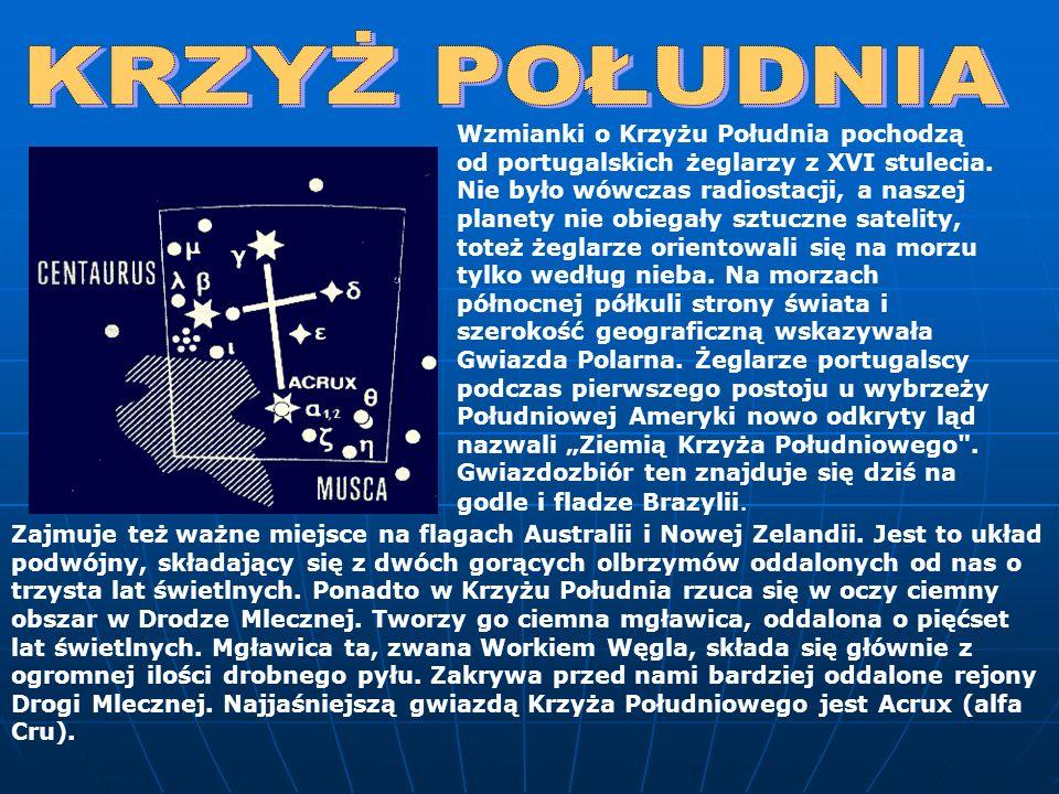 Na południe od Niedźwiadka, w miejscu gdzie Droga Mleczna rozdziela się na dwie odnogi, znajdziemy ten mały gwiazdozbiór.