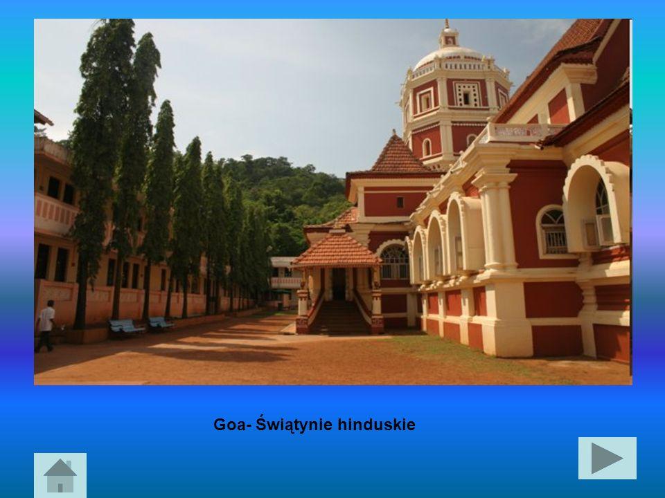 Goa- Świątynie hinduskie