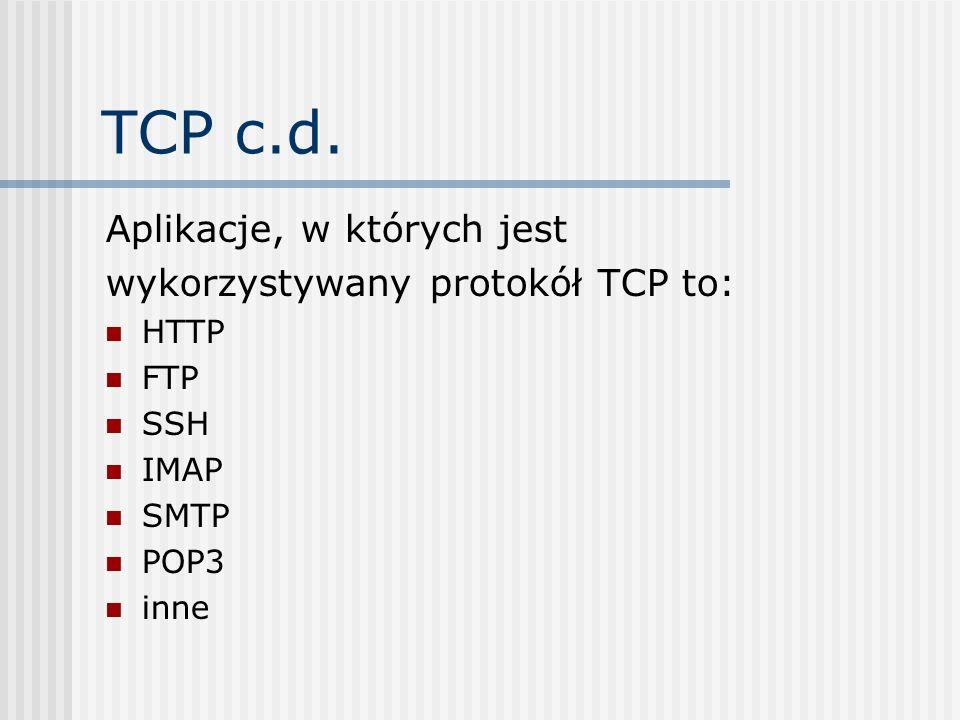 Warstwa transportu - SSL SSL (Secure Sockets Layer) Protokół, w pierwotnej wersji zaprojektowany przez firmę Netscape Communications Corporation, zapewniający integralność i poufność transmisji danych oraz uwierzytelnianie.