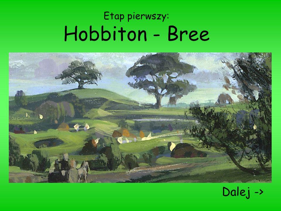 Etap pierwszy: Hobbiton - Bree Dalej ->