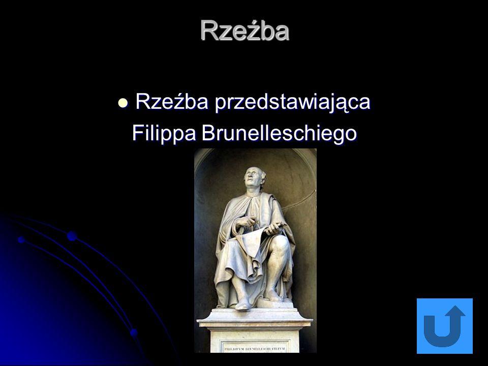 Rzeźba Rzeźba przedstawiająca Rzeźba przedstawiająca Filippa Brunelleschiego