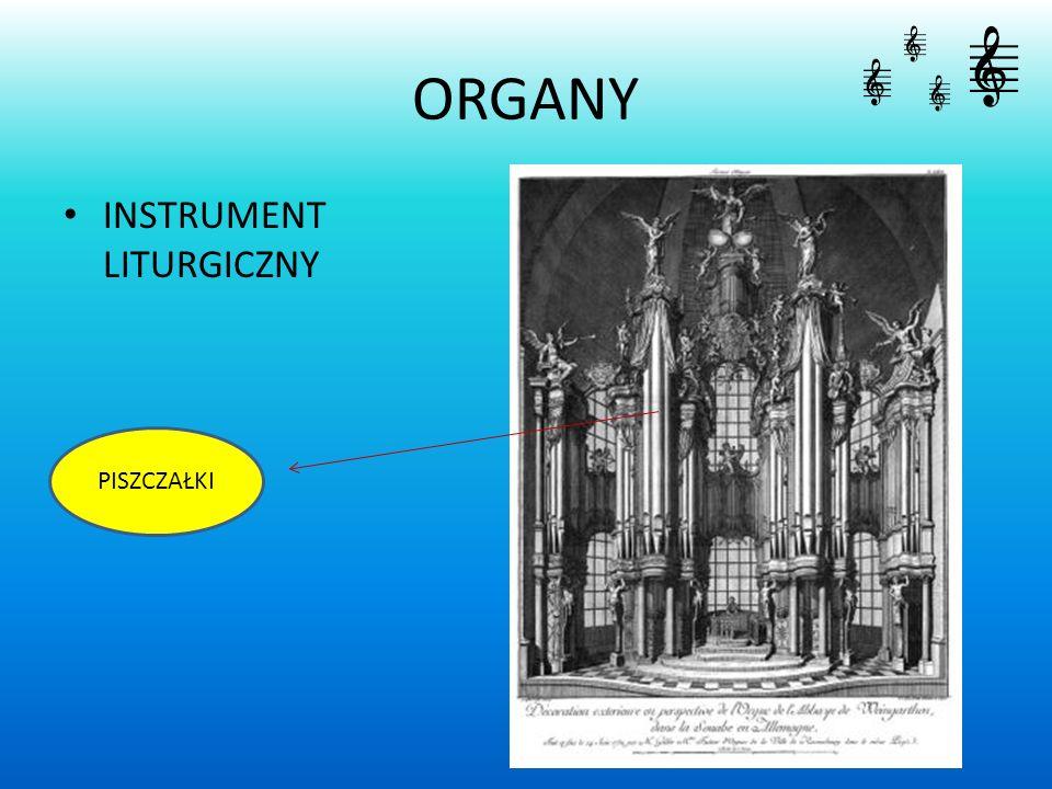 ORGANY INSTRUMENT LITURGICZNY PISZCZAŁKI