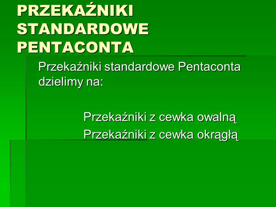 PRZEKAŹNIKI STANDARDOWE PENTACONTA Przekaźniki standardowe Pentaconta dzielimy na: Przekaźniki standardowe Pentaconta dzielimy na: Przekaźniki z cewka